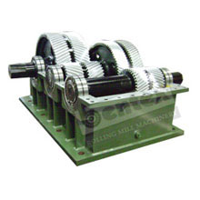 Reduction Gear Box Open